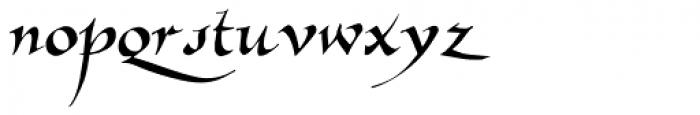 Allembert Font LOWERCASE