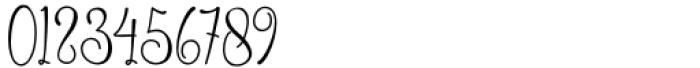 Allenisa Regular Font OTHER CHARS