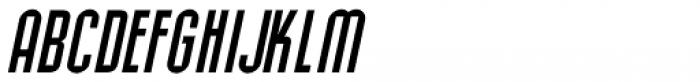Allerton Oblique Font LOWERCASE