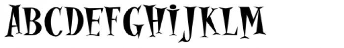 Alleycat Bop ICG Bold Font UPPERCASE