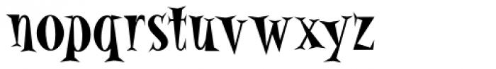 Alleycat Bop ICG Bold Font LOWERCASE