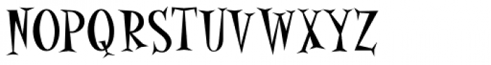 Alleycat Bop ICG Font UPPERCASE