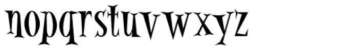 Alleycat Bop ICG Font LOWERCASE