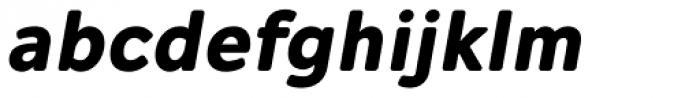Alleyn Bold Italic Font LOWERCASE