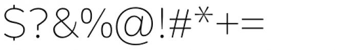 Alleyn Light Font OTHER CHARS