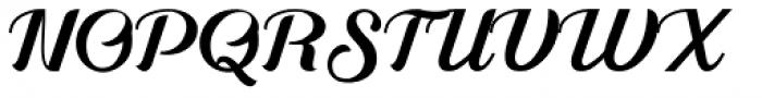 Alleyster Regular Font UPPERCASE