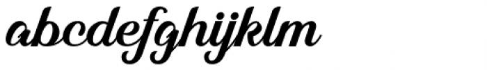 Alleyster Regular Font LOWERCASE