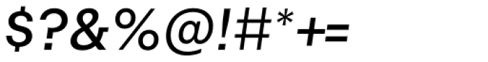 Alliance No.1 Medium Italic Font OTHER CHARS