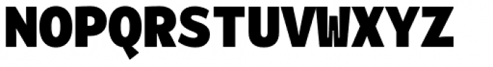 Alloca Mono Black Font UPPERCASE
