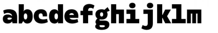Alloca Mono Black Font LOWERCASE