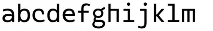 Alloca Mono Regular Font LOWERCASE
