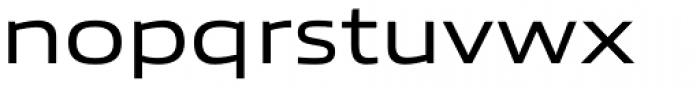 Allumi Std Extended Regular Font LOWERCASE