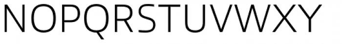 Allumi Std ExtraLight Font UPPERCASE