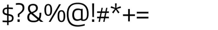 Allumi Std Light Font OTHER CHARS
