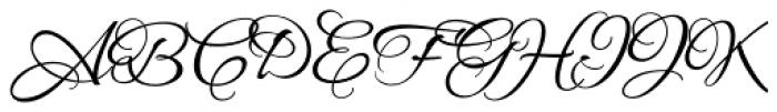 Allura Formal Font UPPERCASE