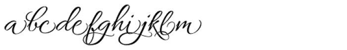 Allura Formal Font LOWERCASE