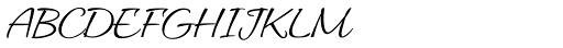 Allura Regular Font UPPERCASE