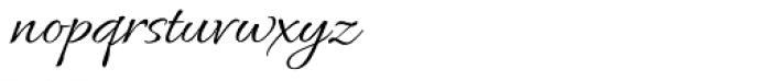 Allura Regular Font LOWERCASE