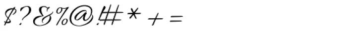 Allura Script Font OTHER CHARS