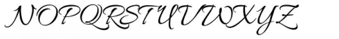 Allura Script Font UPPERCASE