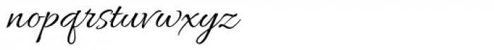 Allura Script Font LOWERCASE