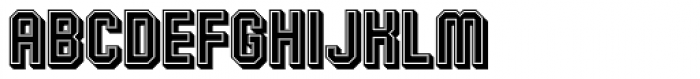 Alma Mater Shadow Font LOWERCASE