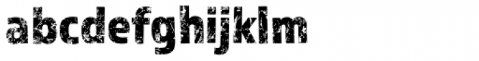 Almaq Rough Font LOWERCASE