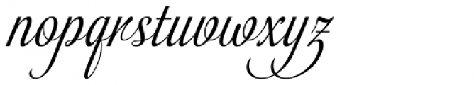 Almibar Swash 1 Font LOWERCASE