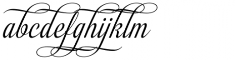 Almibar Swash 2 Font LOWERCASE