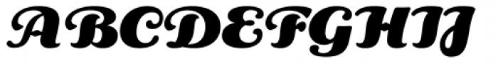 Aloe Black Font UPPERCASE