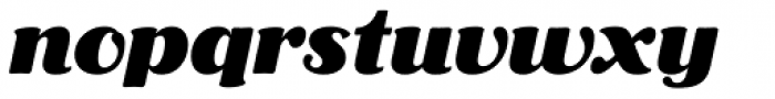 Aloe Black Font LOWERCASE