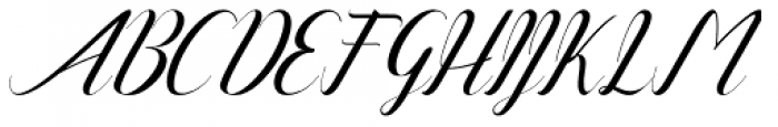 Alone Forever Italic Font UPPERCASE