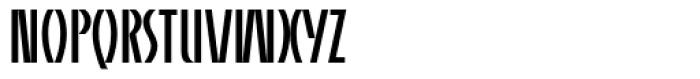 Alpha Charlie Plain Font UPPERCASE