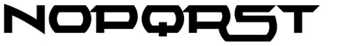 Alpha Echo Swashes Font UPPERCASE