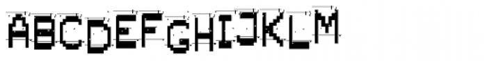 Alpha Fox Dirty Font UPPERCASE