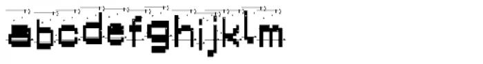 Alpha Fox Dirty Font LOWERCASE
