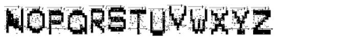 Alpha Fox Very Dirty Font UPPERCASE