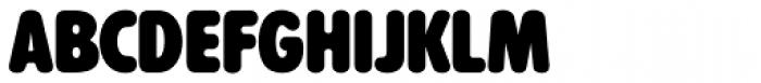 Alphabet Soup Pro Font LOWERCASE