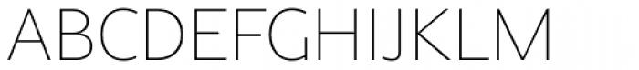 Alpinist Thin Font UPPERCASE