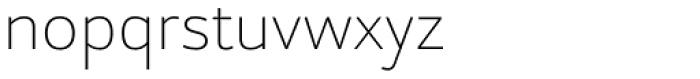 Alpinist Thin Font LOWERCASE