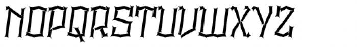 Alquitran Pro Destroy Font UPPERCASE