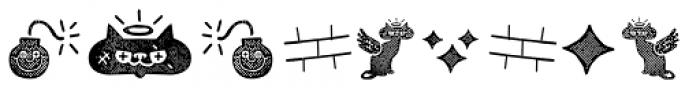 Alquitran Pro Dingbat Character Texture Font UPPERCASE