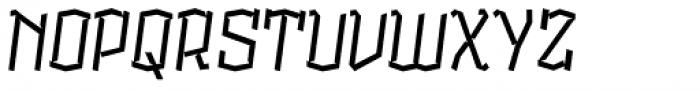 Alquitran Pro Regular Font UPPERCASE