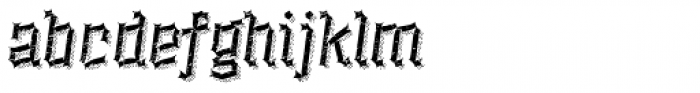 Alquitran Rust Destroy More Shadow Line Font LOWERCASE
