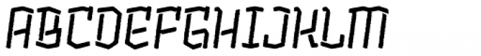 Alquitran Stencil Bold Rough Font UPPERCASE