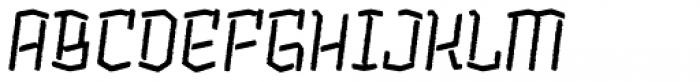 Alquitran Stencil Regular Rough Font UPPERCASE