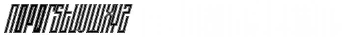 Alt Ayame Duo Italic Font UPPERCASE