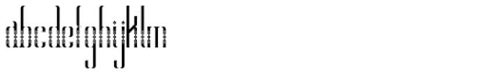 Alt Hiroshi Pattern Font LOWERCASE