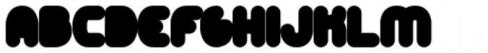 Alt Retro Black Font LOWERCASE