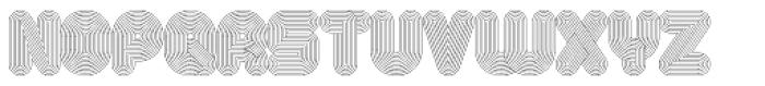 Alt Retro Light Font UPPERCASE